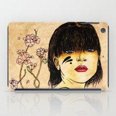 Portrait - asian woman iPad Case