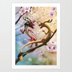 Hu & Tong Art Print