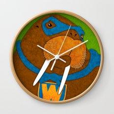 Walrus Wall Clock