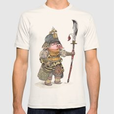 Cochon Samouraï Mens Fitted Tee Natural SMALL