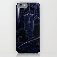 alien iPhone & iPod Cases featuring Alien by MatoSwamp