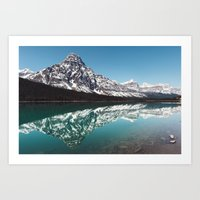Reflection In The Rockie… Art Print