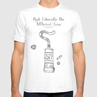 Gay Ointment: LGBT Poste… Mens Fitted Tee White SMALL