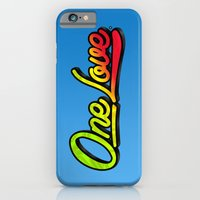 iPhone & iPod Case featuring One Love by Graeme Voigt