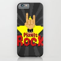 Pixels Rock iPhone 6 Slim Case