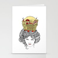 The Queen of Montreal Stationery Cards
