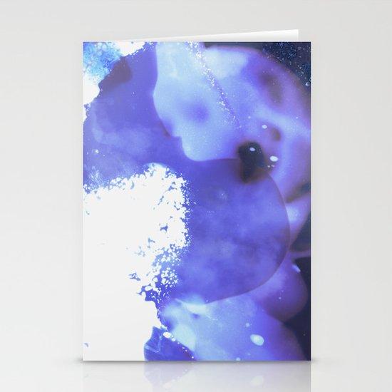 GALAXY {BLUE} Stationery Card