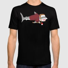 Shark LumberJack SMALL Mens Fitted Tee Black