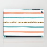 Sparkle Stripe iPad Case