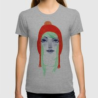 Arange Womens Fitted Tee Athletic Grey SMALL