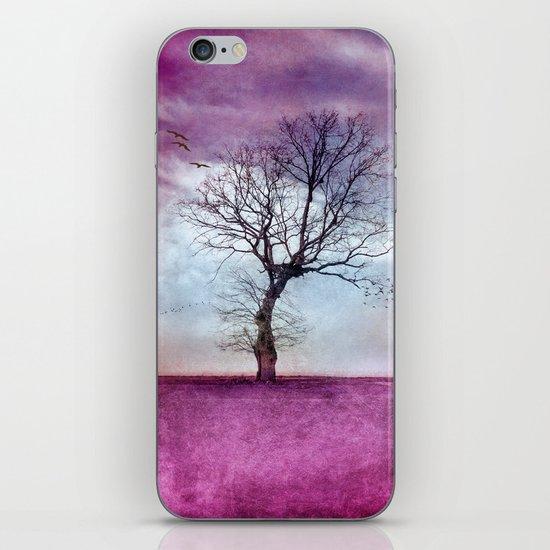 ATMOSPHERIC TREE | Pink Morning iPhone & iPod Skin