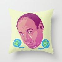 Tony Soprano Throw Pillow