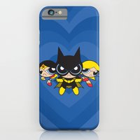 iPhone & iPod Case featuring Supertough Girls by Mandrie