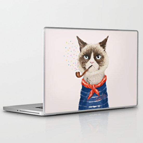 Sailor Cat V Laptop & iPad Skin