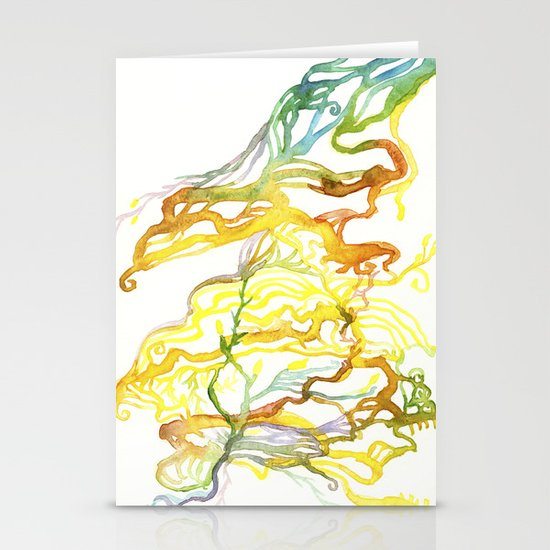 Iceland Abstracted #6 Stationery Card