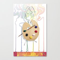 Painter Canvas Print