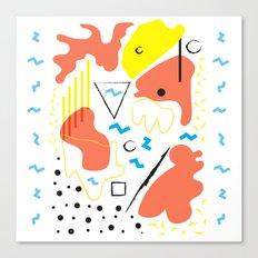 Composition Canvas Print