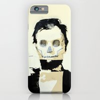 Abraham Lincoln (skull) iPhone 6 Slim Case