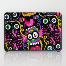 There's Something On Your Face iPad Case