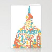 Atlanta, GA Stationery Cards
