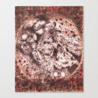 Corpse Blossoms Canvas Print