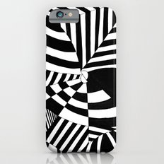 Op art pattern iPhone 6 Slim Case