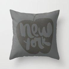 NY: The Big Apple Throw Pillow