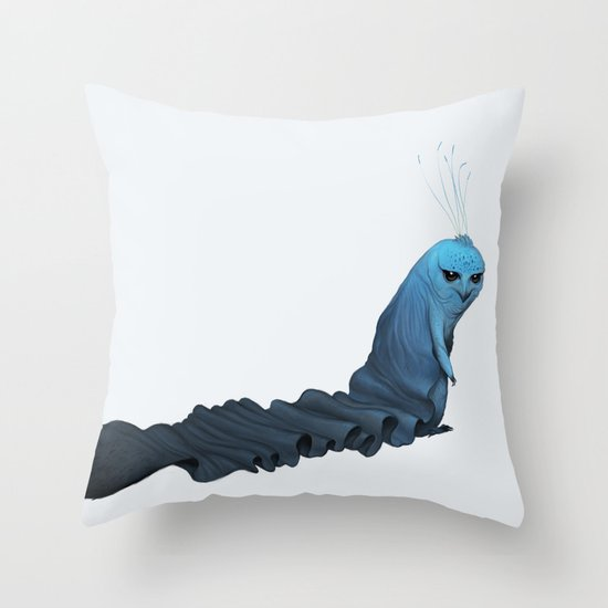 Caped Kimkao Throw Pillow