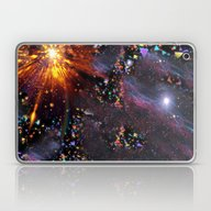 Triangles Space Laptop & iPad Skin