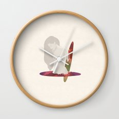 Lost in a Portal  Wall Clock