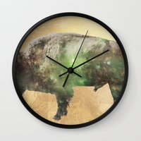 Surreal Buffalo Wall Clock