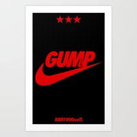 Gump- JustDoIt III Art Print