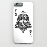 iPhone & iPod Case featuring Darth Vader Card by Sitchko Igor