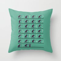 From A to Zorro Throw Pillow