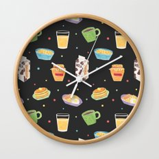 Yummy Breakfast Wall Clock