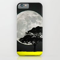 Lone Tree And Moon. iPhone 6 Slim Case