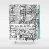 PORTO RICO IMPORT CO, NY… Shower Curtain