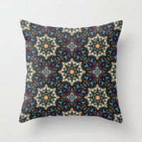 Abstract Cathedral Kalei… Throw Pillow