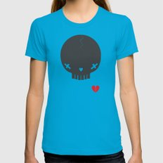 HEART BREAKER - ed. fact Womens Fitted Tee Teal SMALL