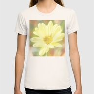 Ye Ye Yellow Womens Fitted Tee Natural MEDIUM