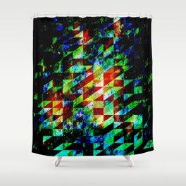 Shower Curtain - GLITCHES - EXITVS