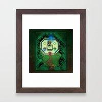 Zelda Link to the Past Master Sword Framed Art Print