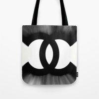 B&W Fashion C Tote Bag