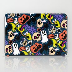 Spooky Pattern iPad Case