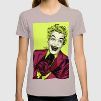 Joker On You 2 Womens Fitted Tee Cinder SMALL