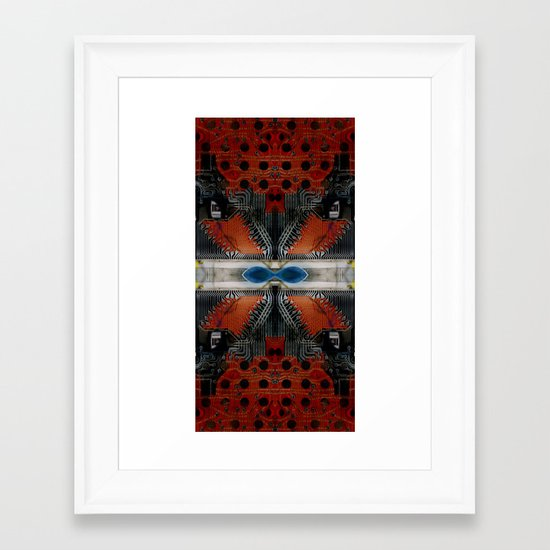 OR/WELL:  Calculator V2 Framed Art Print