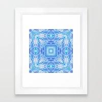 Ocean Kaleidos Framed Art Print