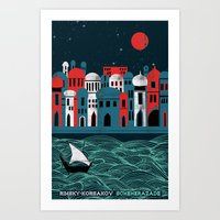 Scheherazade - Rimsky Ko… Art Print