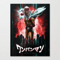 Saitama Is The Epic One … Canvas Print