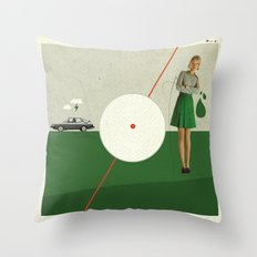 Blame The Sunshine | Collage Throw Pillow
